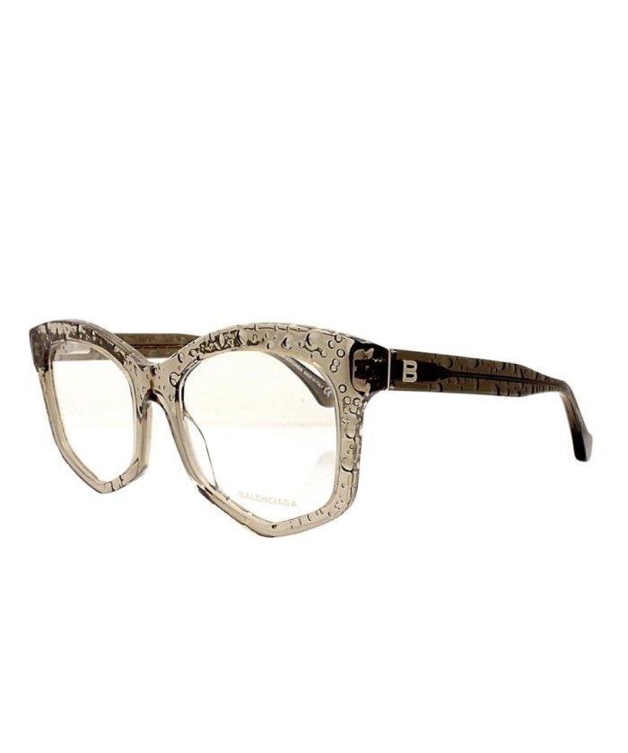 (Sears/シアーズ)バレンシアガ メガネ BALENCIAGA メガネフレーム ba5052−51−057/ユニセックス カーキ