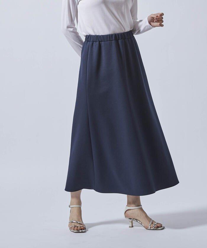 (LAUTREAMONT/ロートレアモン)【WEB別注】ダンボール素材のフォルムスカート/レディース ネイビー