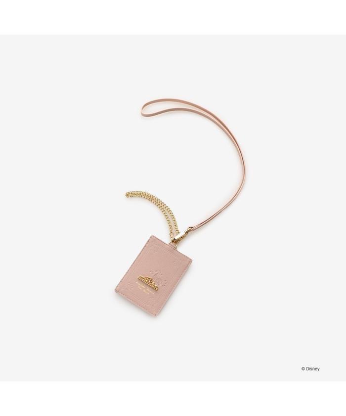 (Samantha Thavasa Petit Choice/サマンサタバサプチチョイス)IDケース オーロラ姫/レディース ピンク