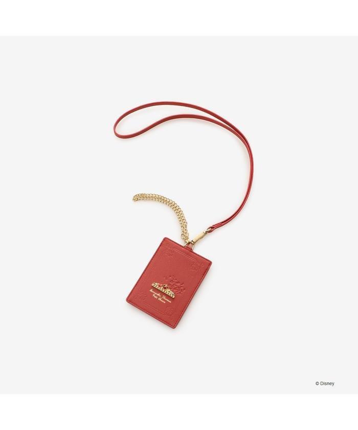 (Samantha Thavasa Petit Choice/サマンサタバサプチチョイス)IDケース オーロラ姫/レディース レッド