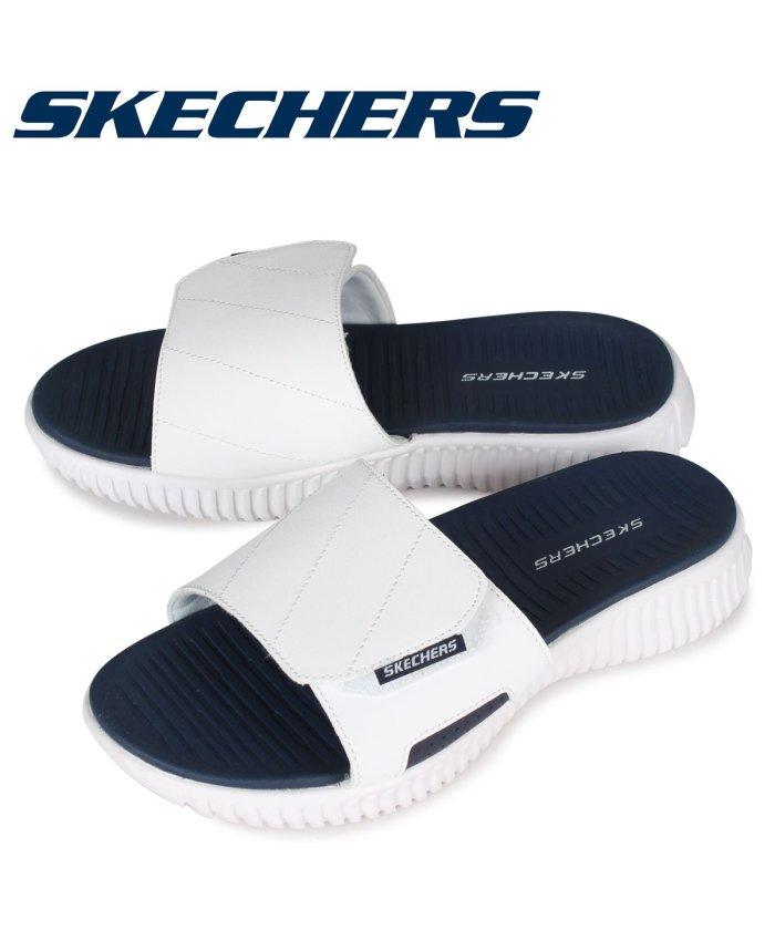 (SKECHERS/スケッチャーズ)スケッチャーズ SKECHERS サンダル メンズ エリート ELITE FLEX TREVERA ホワイト 白 237070/メンズ その他