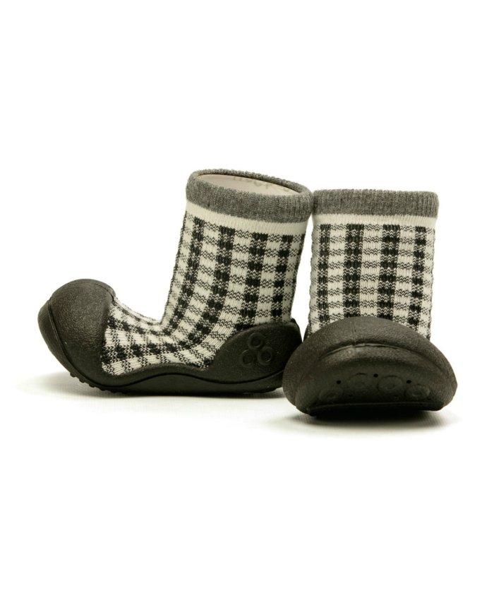(FOOT PLACE/フットプレイス)アティパス Attipas ベビー 靴下 シューズ プレゼント ギフト AP−2700/キッズ ブラック