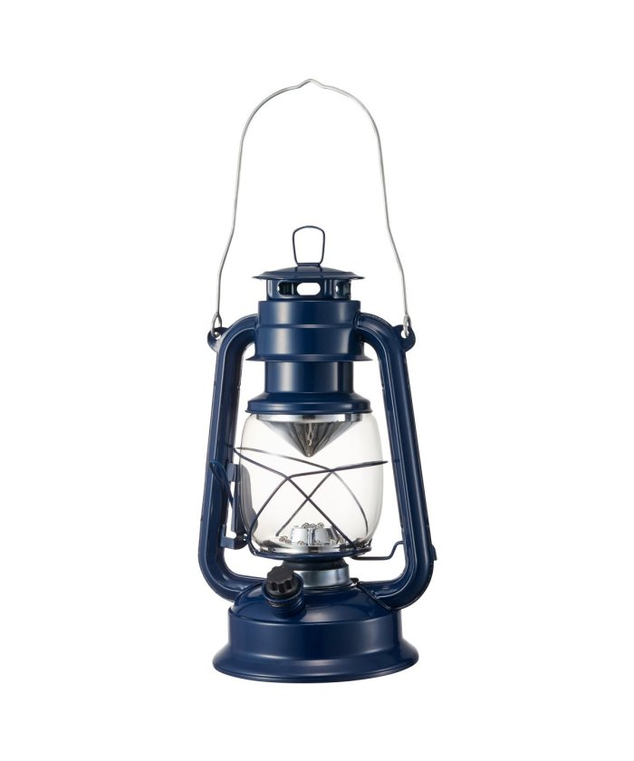 (BRUNO/ブルーノ)BRUNO ブルーノ LEDランタン 卓上ランプ ライト 電灯 灯り 電池式 14灯 持ち手付き 雑貨 防災 キャンプ アウトドア インテリア アンティーク ピ/ユニセックス ネイビー