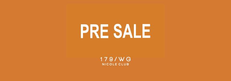 179/WG NICOLE CLUB(179/WG ニコルクラブ)