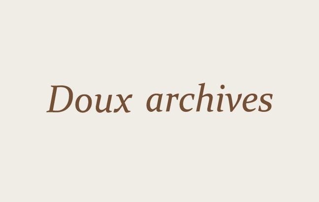 Doux archives