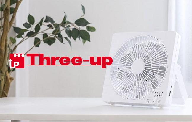 Three-up