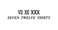 SEVEN TWELVE THIRTY セール