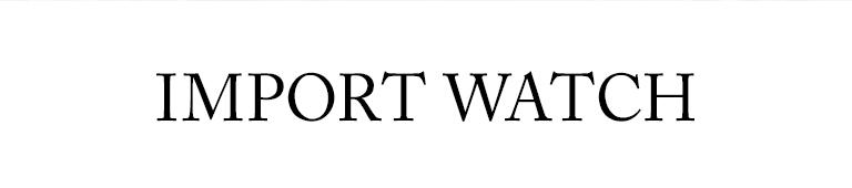 IMPORT WATCH(インポート ウォッチ)
